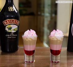 Tainted Love Shot - For more delicious recipes and drinks, visit us here: www.tipsybartender.com