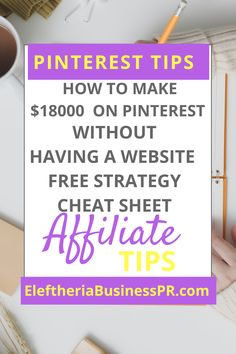 Affiliate Marketing is a big part on my success on Pinterest with Pinterest strategies. Affiliate marketing for beginners/affiliate marketing tips/affiliate marketing on pinterest/affiliate marketing without a blog/affiliate marketing make money online business/affiliate marketing programs/pinterest affiliate marketing for beginners/pinterest affiliate marketing without a blog/affiliate marketing for bloggers/pinterest affiliate marketing without a blog/pinterest affiliate marketing. Make Money Blogging, Money Saving Tips, Way To Make Money, How To Make, Money Fast, Blogging Ideas, Money Savers, Earn Money, Affiliate Marketing
