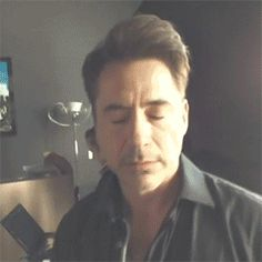 Robert--up close & personal :) on set of his movie Chef