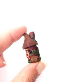 Gnome Home, Fairy home PDF tutorial, Polymer Clay Tutorial, miniature tutorial, tiny house tutorial, Polymer Applique on Etsy, $7.99