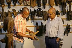 IN-PERSON TOUR - AFRICAN ARTE GALERIA  Come discover the world of African Art at African Arte Galeria!!!! We have one of the largest collections of tribal art in Portugal and it is quite an awesome thing to experience. We'll show you all the best pieces!  Schedule your private tour with us!! We welcome groups!!!! Call us now!!!  #africanarte #africanart #utilitarian #artdeco #decoration #tribal #art #collection #decor #artifacts #culture #collectors #museum #gallery #luxury #antiques…