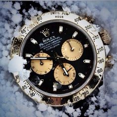 ROLEX   ⏳ IME S ON MY SIDE Rolex Daytona Watch, Expensive Watches,  Beautiful Watches 2352b6442ebc