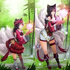 Ahri Fanart - League of Legends