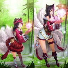 Ahri Fanart - League of Legends
