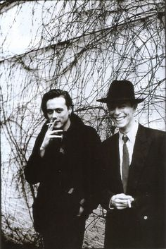 David Bowie and Brett Anderson