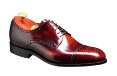 Barker Perth Mens Hi- Shine Derby toe cap shoe http://www.robinsonsshoes.com/barker-perth.html