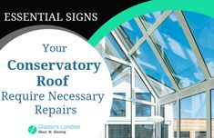 Essential Signs You Should Go For Conservatory Roof Repairs Conservatory Roof Roof Repair Conservatory