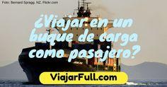 viajar en buque de carga carguero como pasajero turista