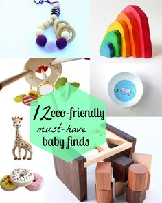 12 Must-Have Eco-Friendly Baby Items