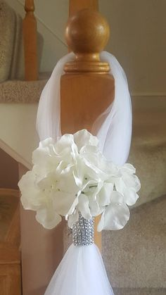 Made by a work from home veteran. Set of 10 Wedding pew Aisle decorations. Made by a work from home Church Wedding Decorations Aisle, Wedding Pews, Wedding Chairs, Wedding Centerpieces, Wedding Events, Wedding Flowers, Wedding Day, Wedding Table, Diy Wedding