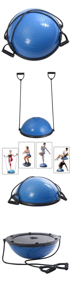 Exercise Balls 31390: Yoga Half Ball Balance Fitness Strength Exercise Equipment Workout Work Out 22In -> BUY IT NOW ONLY: $69.95 on eBay!