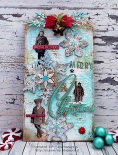 yaya scrap & more: SIMON MONDAY CHALLENGE CHRISTMAS/WINTER HOLIDAYS