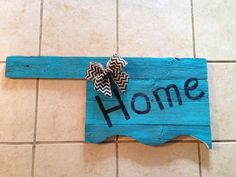 State of Oklahoma signs by MandyJsCrafts on Etsy