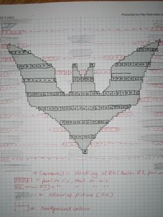 Shadow/Illusion knitting make your own chart instructions
