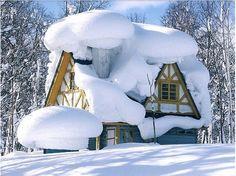 Piemonte, North Italy in winter