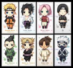 Chibi Naruto Characters, why so cute?! Kakashi!