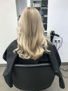 #blonde #highlights #babylights #ash #color #keune #foils #toner