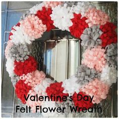 Becoming Martha: Valentine's Wreath