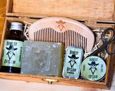 Ehrliche Outlaw Herren Bart Pflege Kit Öl Wachs von HonestOutlaw