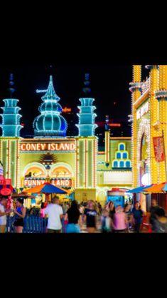 Luna Park Sydney, Coney Island, Fair Grounds, Fun, Travel, Voyage, Viajes, Traveling, Trips