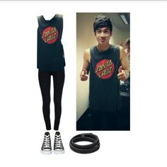 Calum inspired by are-we-happy-now-yes-no on Polyvore