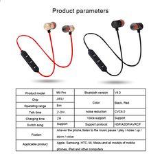 Бездротовий наушник Bluetooth із мікрофоном Гарнітура для навушників  Навушники для стереосистем Bluetooth V4.2 Навушники d46523f5c2632