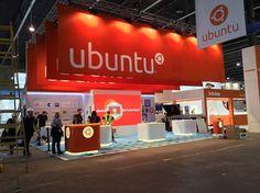 Ubuntu's booth at MWC 2014 - Ubuntu's Booth at MWC 2014 Looks Spectacular - Softpedia