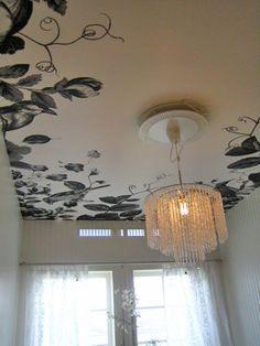 Custom Ceiling Wallpaper by Lisa Bengtsson