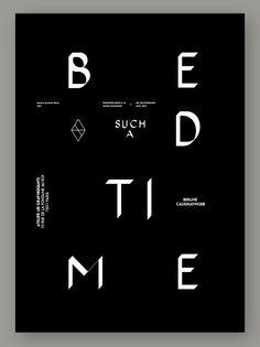 ©les graphiquants - Berline Type - #types #font #graphic #design #typographie…