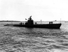 USS TINOSA SS 283 Fleet Naval Submarine USN Navy Photo Print