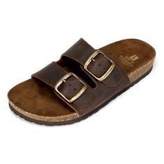 White Mountain Shoes Helga Brown Sandal