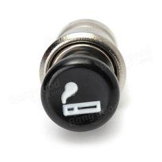 12V Counter Cigarette Lighter Socket Dual USB Charger Voltmeter For Motorcycle Car Boat