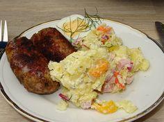 Gemüse-Kartoffelsalat ohne Mayo