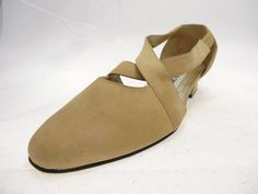 Apostrophe  Amelia Vintage Sandy Beige Suede Women's Shoes  6.5M             #Apostrophe #LaceUps