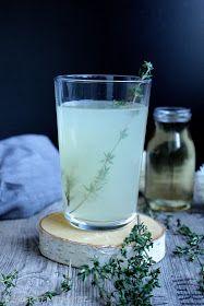 Rezepte mit Herz: Heiße Thymian - Ingwer - Limonade ♡
