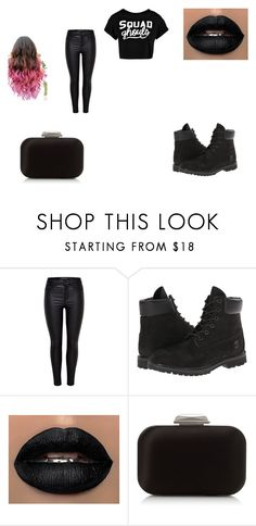 """""""Untitled #181"""" by ms-kendralove ❤ liked on Polyvore featuring Timberland, Jimmy Choo and Boohoo"""