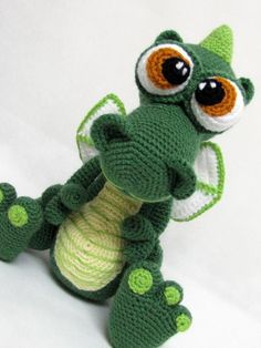 Dragon Amigurumi crochet toy | Craftsy