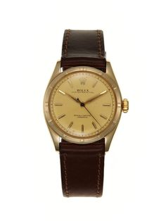 Rolex Oyster Perpetual Chronometer Watch (c. 1953) by Vintage Watches on Gilt