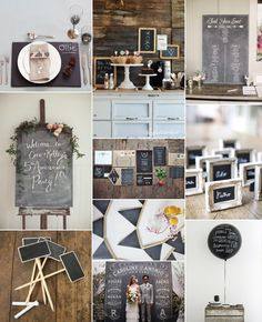 Back to School ✈ Chalkboard Wedding Ideas and Inspiration | Fly Away Bride