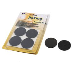 Office Self-adhesive Round Table Chair Mats Furniture Foot Protectors 12 PCS