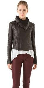 What's New at SHOPBOP  Max Classic Leather Jacket...NEED!