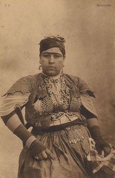 Mauresque, Postkarte, ca. 1900