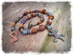 Earthy LIZARD of Abundance necklace Animal Totem by GPyoga on Etsy, $63.00