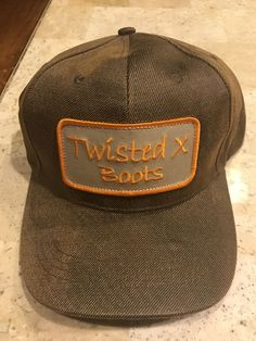 98062d77794b7 Details about Twisted X Hat Cap wih Logo XC-101