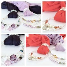 Sciarpe gioiello  Sciarpa donna Jewelry scarf Scarf with Jewelry  Cotton Scarf