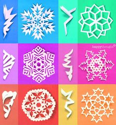 Valentine Snowflake templates – Easy homemade DIY tips, instructions and templates! Paper Snowflake Template, Paper Snowflake Patterns, Snowflake Craft, Christmas Snowflakes, Christmas Crafts, Christmas Decorations, Paper Snowflakes, Diy Snowflake Decorations, Paper Stars