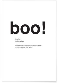 Mothers Day Quotes Discover The boo interjection Poster The boo interjection as Premium Poster by Matěj Kašpar Jirásek Interesting English Words, Unusual Words, Weird Words, Rare Words, Learn English Words, One Word Quotes, Good Life Quotes, Quote Posters, Quote Prints