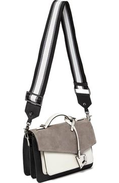 19d3f3acdcf88 Botkier Cobble Hill Calfskin Leather Crossbody Bag