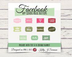BOGO Facebook Timeline Tab Images  App Buttons
