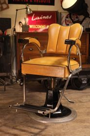 fauteuil ancien de barbier belmont office garage cave pinterest barber shop and armchairs. Black Bedroom Furniture Sets. Home Design Ideas